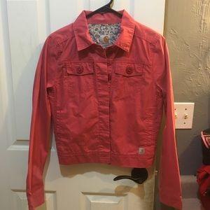 Carhartt jacket women's Xs